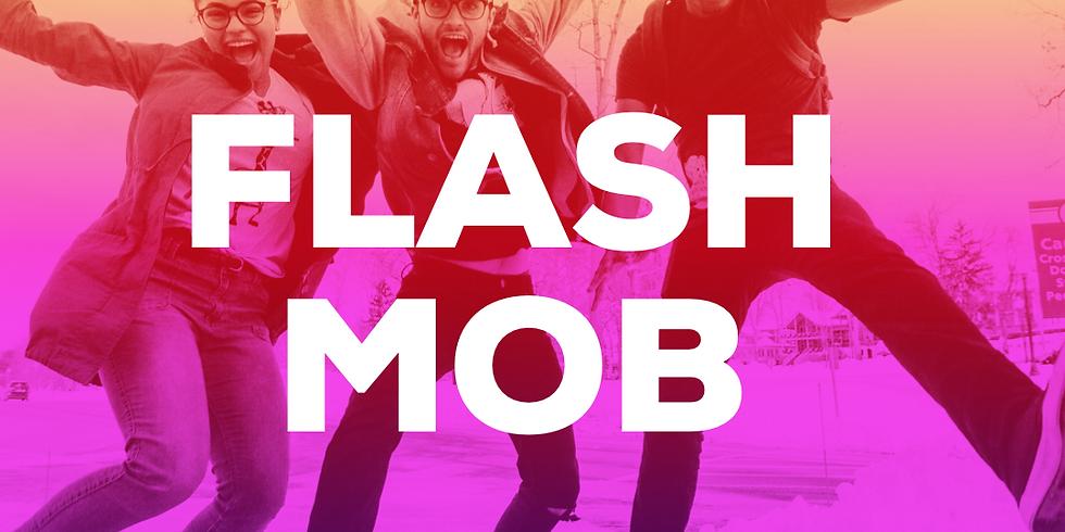 Flash Mob - live practice session