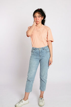 Oh Well Tee in Salmon