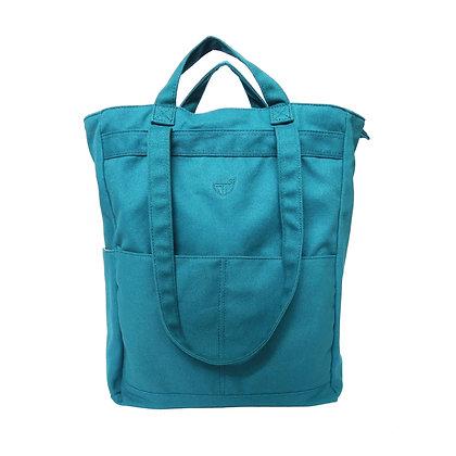 Stuff Convertible Bag in Peacock Blue