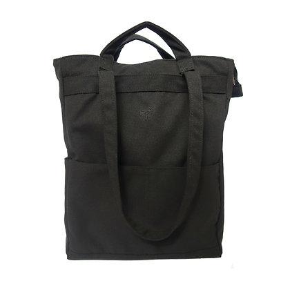 Stuff Convertible Bag in Black