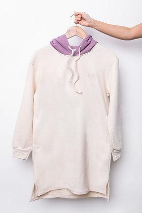 Stuff Hooded Dress (Purple)