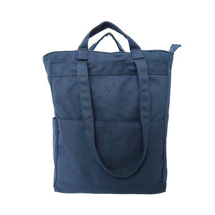 Stuff Convertible Bag in Navy Blue