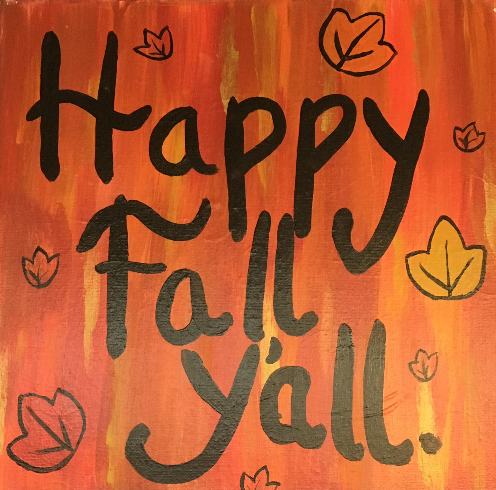Happy Fall Ya'll
