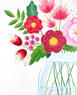 Modern Bouquet Variation