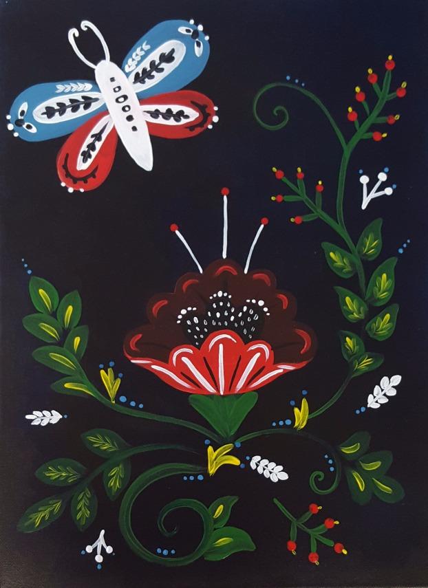 Polka Floral