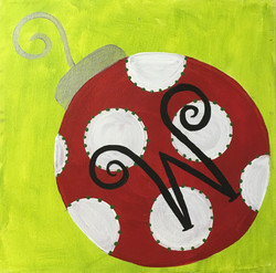 Monogram Ornament 2