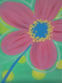 Pop Art Poppy