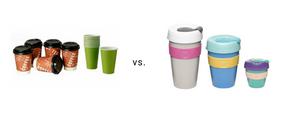 reusable coffee cup, vaso de cafe reutilizable