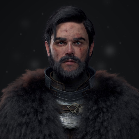 Cinematic Realistic Character - Knight