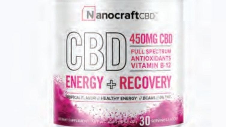 Nanocraft Pre/Post Workout Powder 450mg CBD