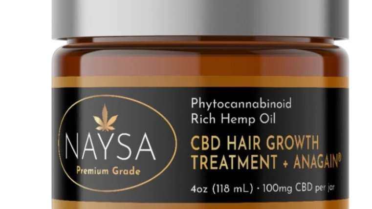 NAYSA Hair Growth Treatment + Anagain - 100mg CBD