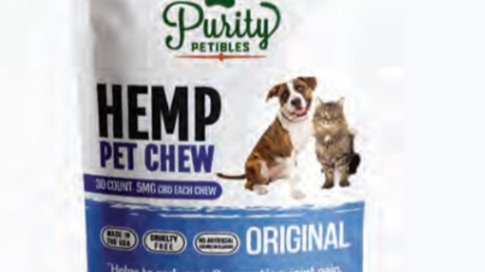 Purity Petibles Pet Chews 5mg CBD per Treat