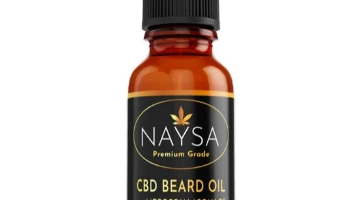 NAYSA Moroccan Argan Beard Oil 100mg CBD