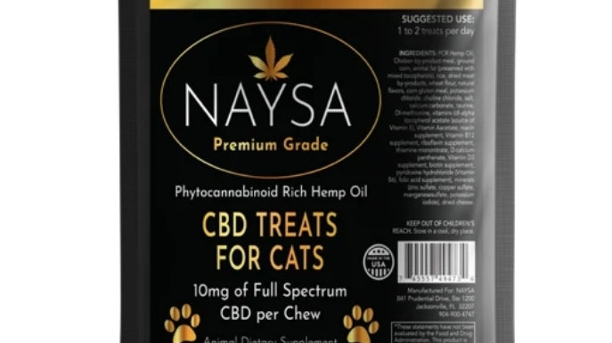 NAYSA Treats for Cats - 300mg per bag