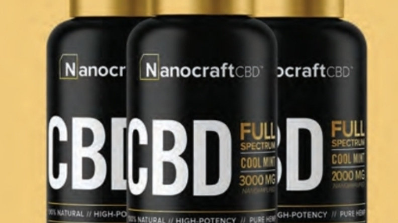 Nanocraft Gold Series - 2000mg Full Spedtrum CBD Drops