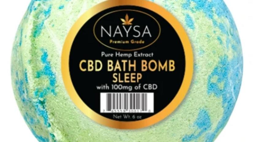 NAYSA Sleep Bath Bomb - 100mg CBD