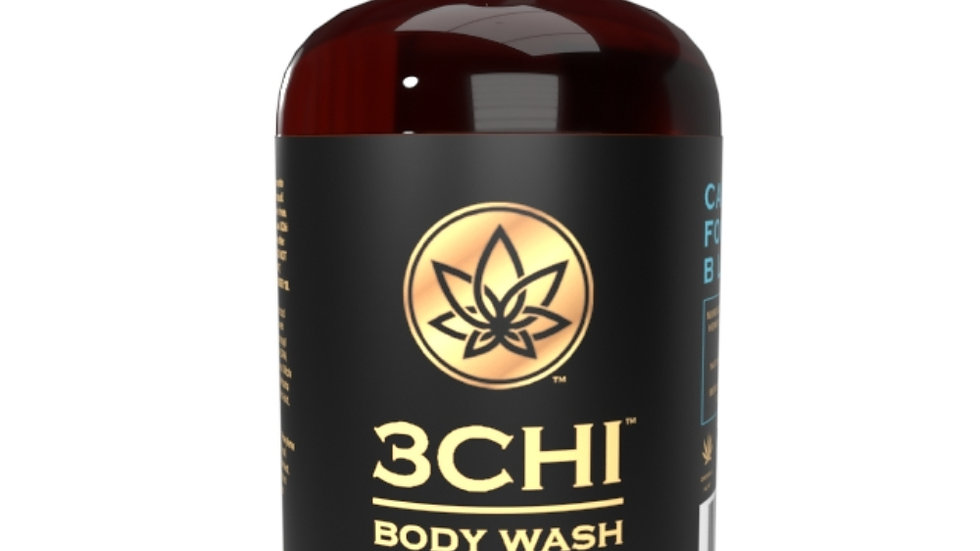 3CHI Calm CBD Body Wash 8oz - 50mg CBD