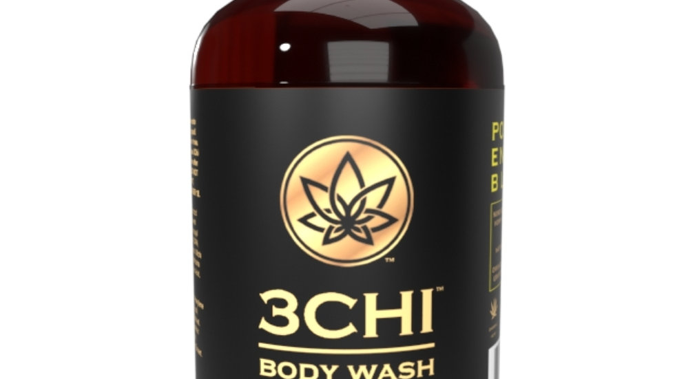 3CHI Happy CBD Body Wash -8oz 50mg CBD