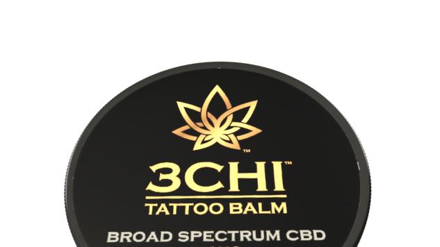 3CHI Tattoo Balm Broad Spectrum 50mg CBD