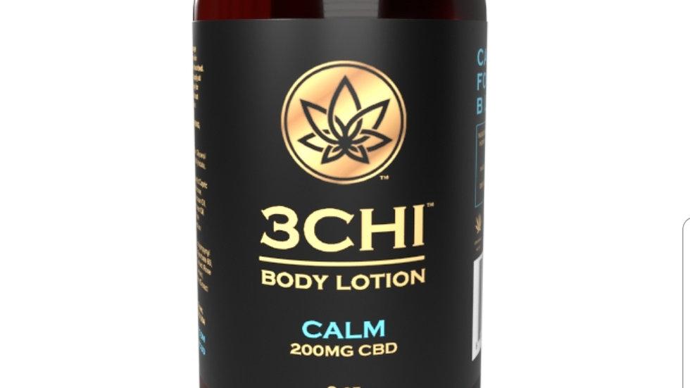 3CHI Calm CBD Body Lotion - 200mg CBD 8oz