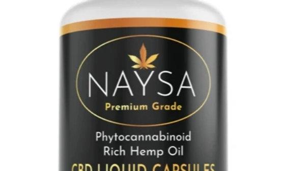 NAYSA Liquid Capsules -Full Spectrum CBD -25mg