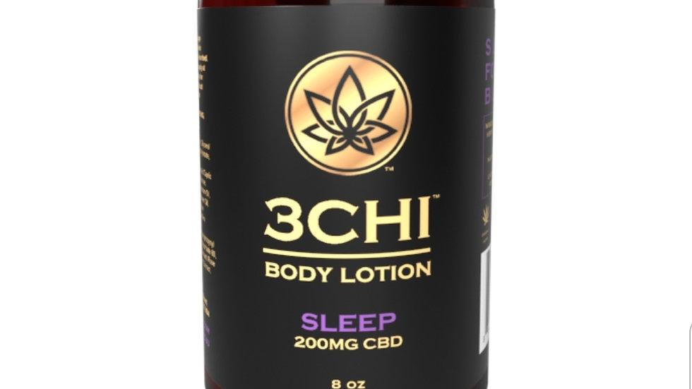 3CHI Sleep CBD Body Lotion - 200mg CBD 8oz