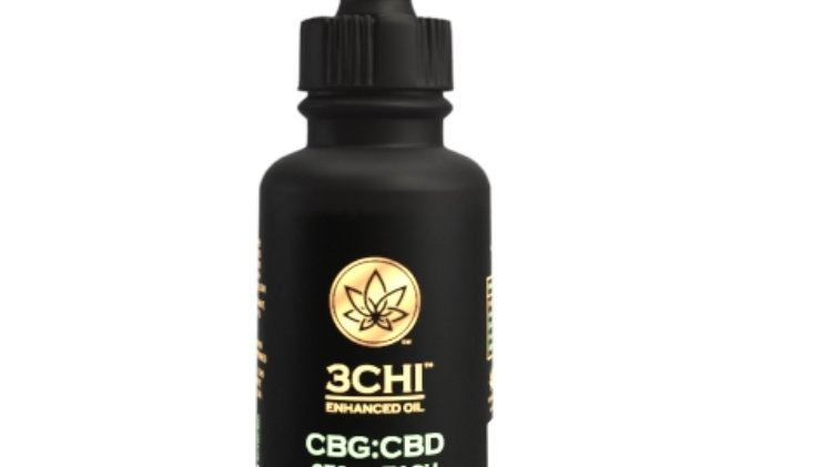 3CHI 500mg CBG : 500mg CBD Oil