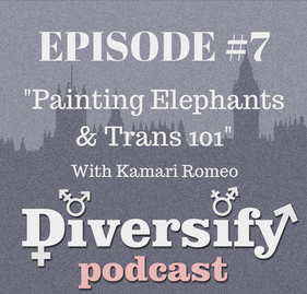 Painting Elephants and Trans 101 with Kamari Romeo