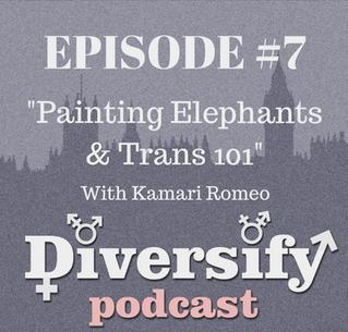Painting Elephants and Trans 101 with Kamari Romeo