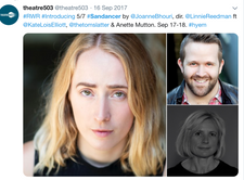 Theatre 503: Sandanser