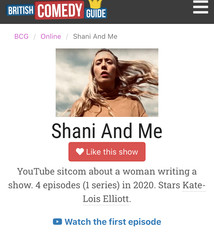Comedy: Shani and Me on British Comedy Guide