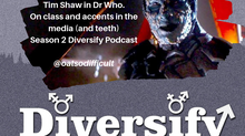 Diversify Podcast: Samuel Oatley (AKA Tim Shaw from Dr Who)