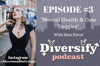 Mental Health and Doggies with Sam Elson (#BlossumAndButtercups)