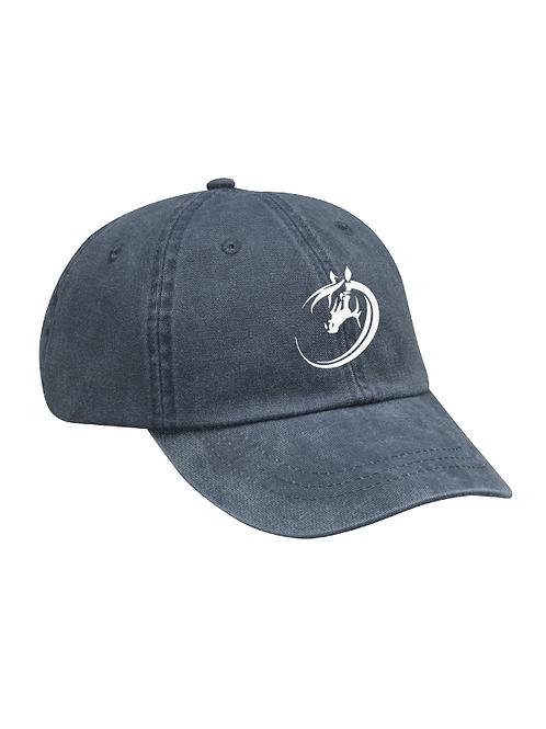 Ohio Equestrian Ball Cap - Midnight Blue 100% Cotton