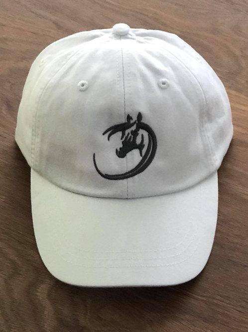 White Cotton Hat by Adams