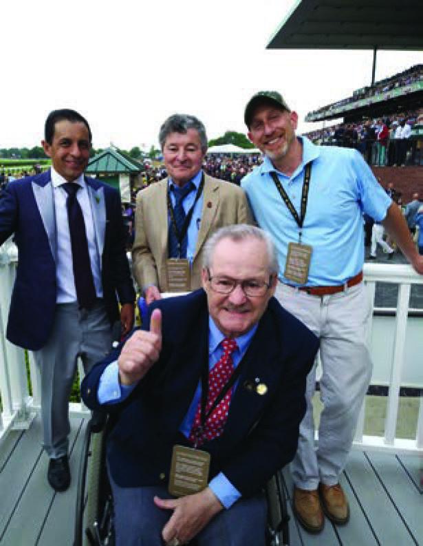 Jockeys at Belmont 2018