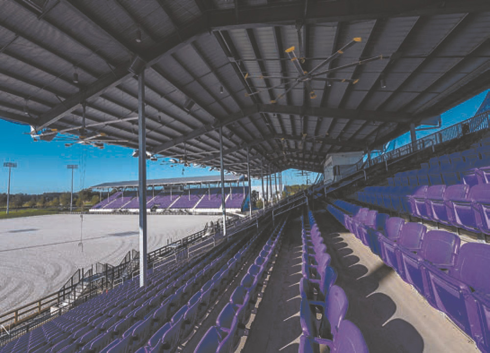 grand arena stands