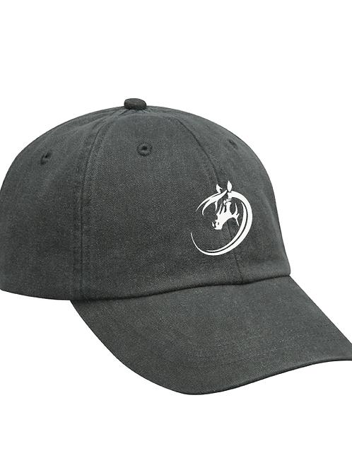 Ohio Equestrian Ball Cap - Charcoal 100% Cotton