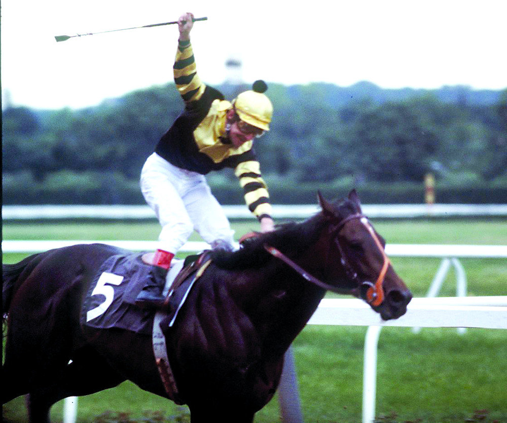Jean Cruguet and Seattle Slew