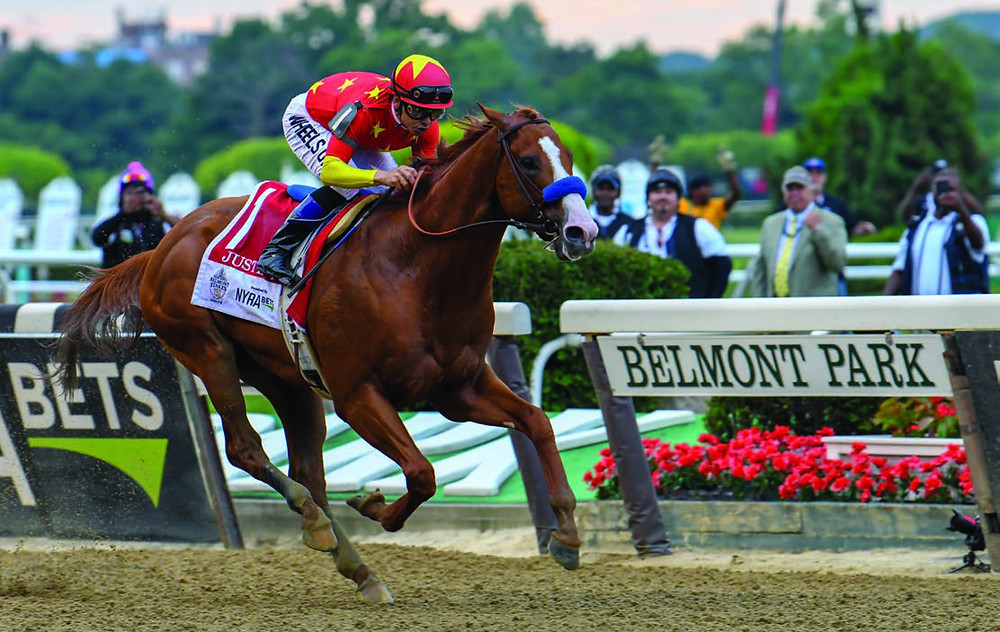 Mike Smith wins Belmont