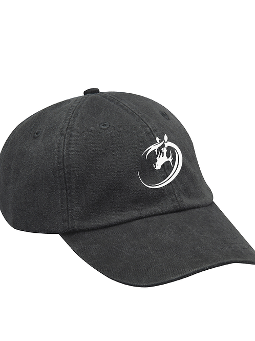 Ohio Equestrian Ball Cap - Black 100% Cotton