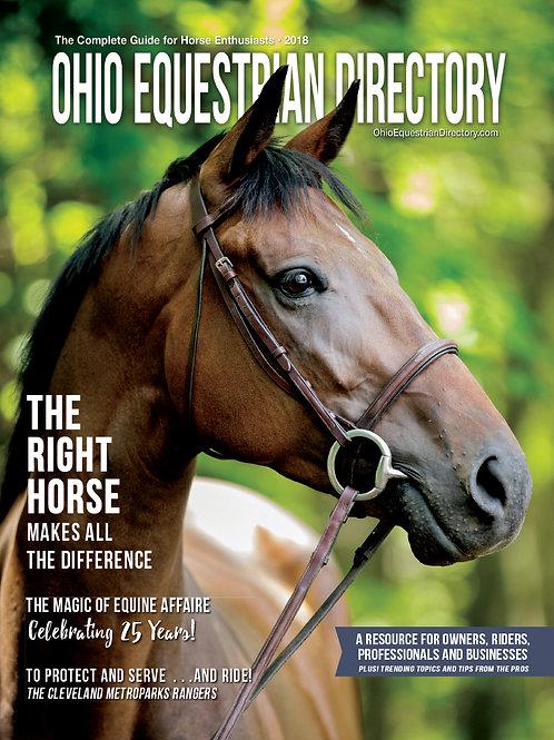 2018 Ohio Equestrian Directory