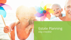 Estate planning - Easy checklist