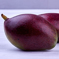 Taste the beautiful profile of the purple Brazilian Mango