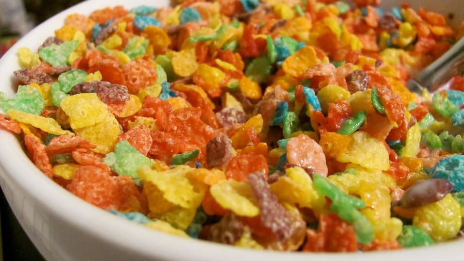 N/A Fruity Cereal & Milk Flavor