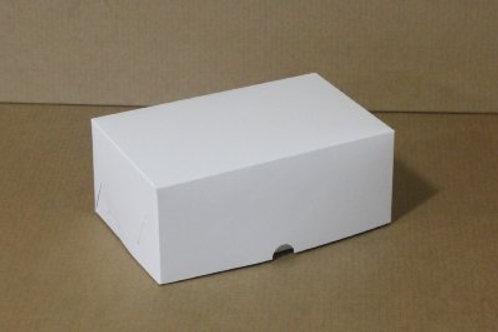 Коробка из белого картона на 6 капкейков