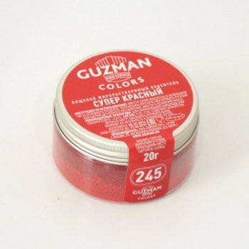 Краситель жирорастворимый супер красный, 20 гр, Guzman