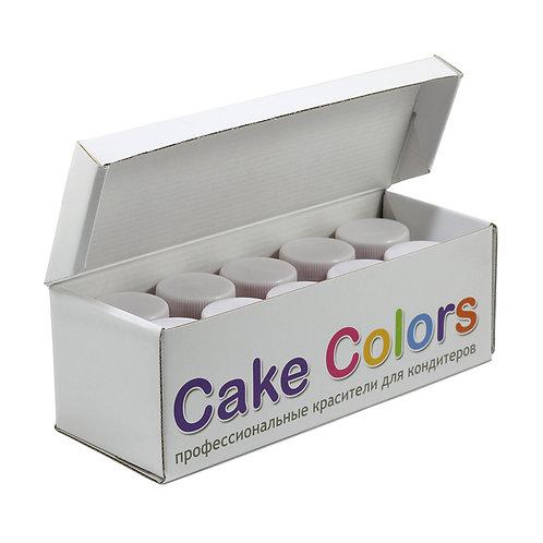 Набор жирорастворимых красителей Cake colors 10 цветов