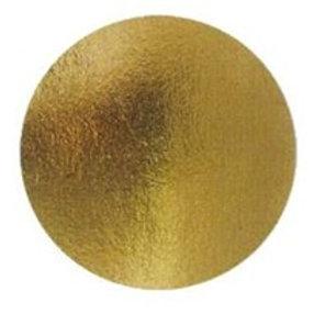 Подложка усиленная(2,5 мм) золото D 280 мм