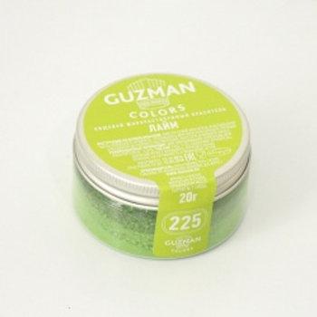 Краситель жирорастворимый лайм, 20 гр, Guzman